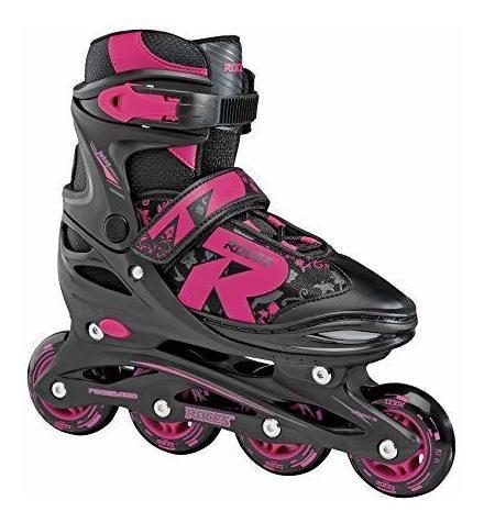 roces 400811 jokey 10 patines en linea ajustables para mujer