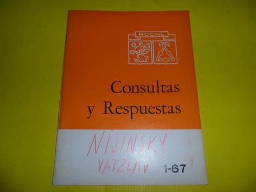 roche 1-67 consultas y respuestas antitumorograma nijinsky