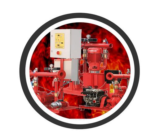 rociadores contra incendio y alarma contra incendio