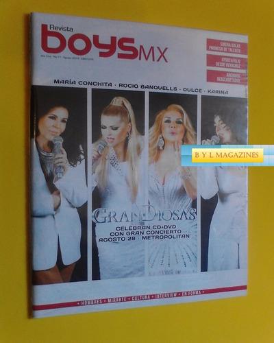 rocio banquells dulce karina maria conchita revista boys mx