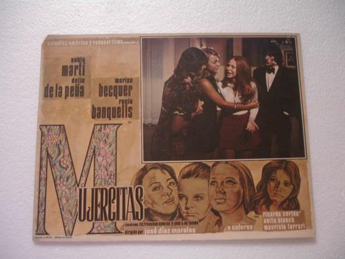 rocio banquells, mujercitas  , cartel de cine