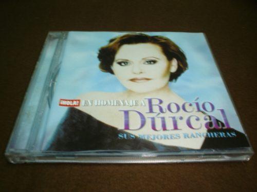 rocio durcal-cd album- en homenaje,sus mejores rancheras