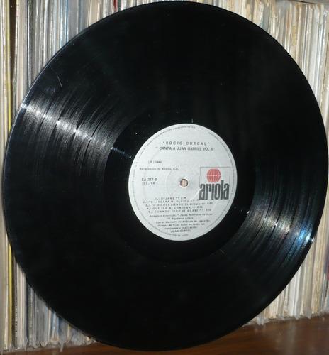 rocio durcal lp canta a juan gabriel volumen 5