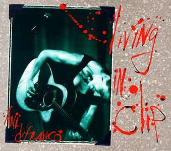 rock ani difranco living in clip 2cd folk