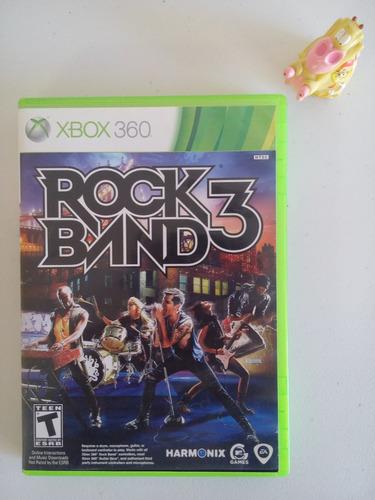 rock band 3 xbox 360 completo garantizado