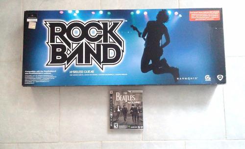 rock band edición especial the beatles para play 3 coleccion