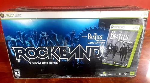 rock band edición the beatles para xbox 360