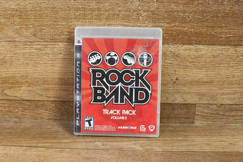 rock band track pack volume 2 ps3 midia fisica