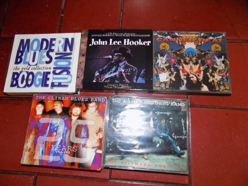 rock, blues, box, cajas importados, allman brothers, climax