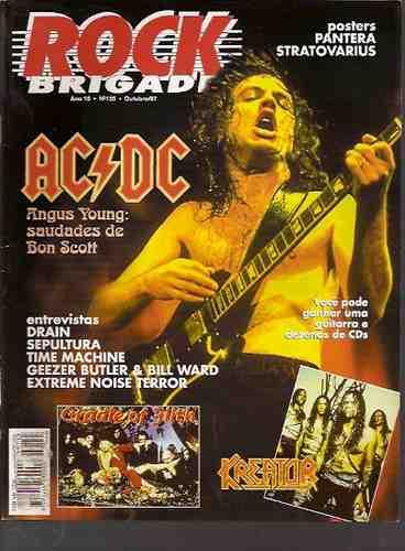 rock brigade 135- ac/dc / sepultura/ kreator/ pantera/ hagar