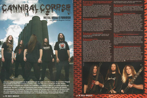 rock brigade 262 - slayer cannibal corpse dio thin lizzy