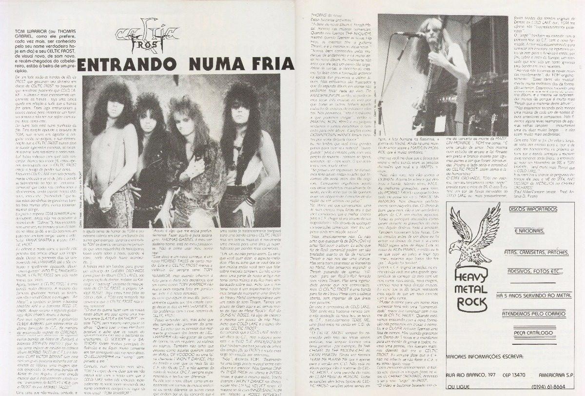 cc6f9c88a Rock Brigade 34 Motorhead Deep Purple Celtic Frost Kiss - R  52