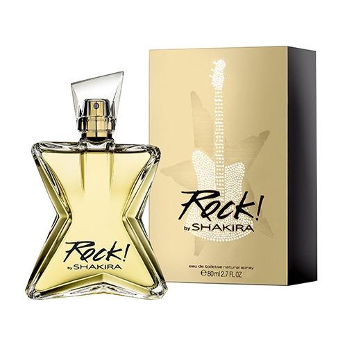 rock by shakira - perfume feminino - eau de toilette 80ml
