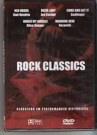 rock classics dvd raro