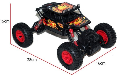 rock crawler 4x4 rc entrega inmediata recargable mygeektoy