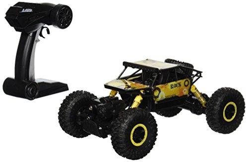 rock crawler mando a distancia toy rally amarillo buggy rc c