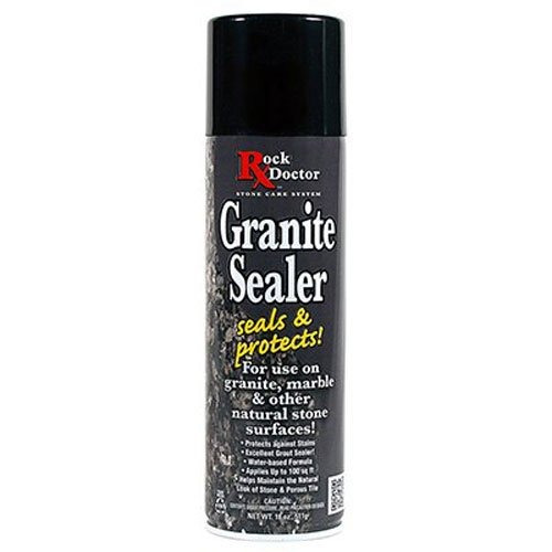 rock doctor granite sealer, 18 onzas
