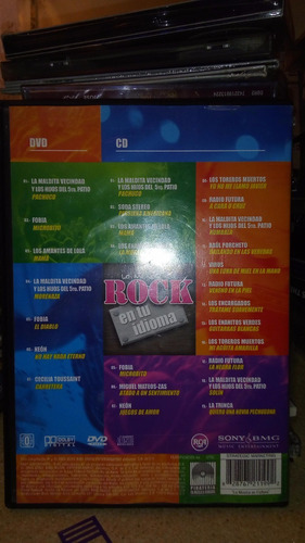 rock en tu idioma cd+dvd limited soda caifanes fobia virus