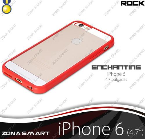 rock enchanting iphone 6 (4.7) case transparente cristal