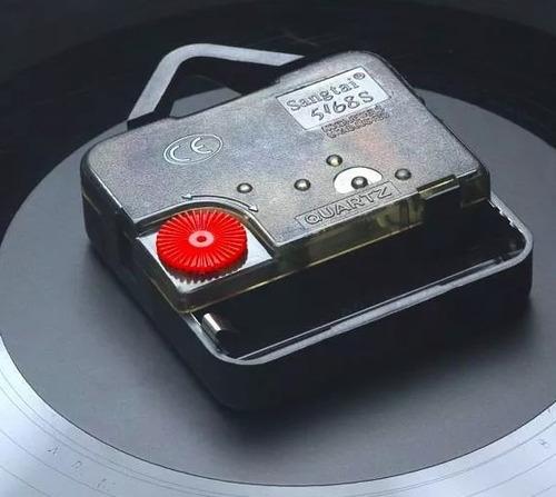 rock guitarra disco lp relógio parede musica personalização
