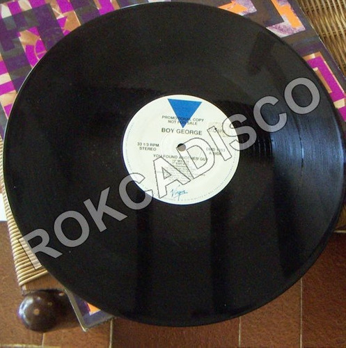 rock inter, boy george, you found another guy, lp 12´,