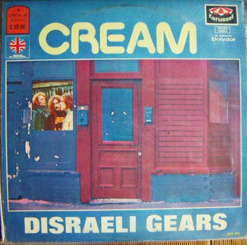 rock inter, cream, disraeli gears, hecho en méxico, lp 12´,