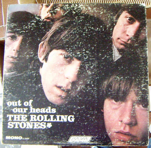 rock inter, rolling stones, out of our heads, u.s.a. lp 12´,
