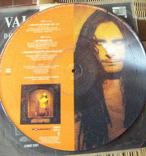 rock inter, steve vai, down deep into the pain, fotodisco