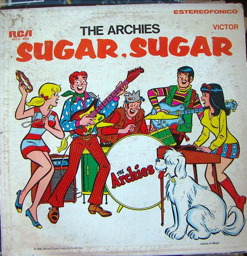 rock inter ,the archies ( sugar, sugar ) lp12