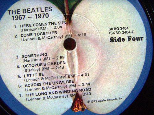 rock inter, the beatles, 1967/1970, hecho en argentina, lp12