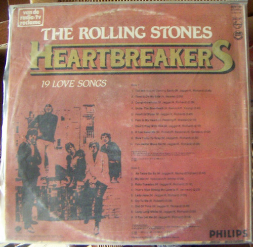 rock inter, the rolling stones, heartbreakers, lp 12´, mdn
