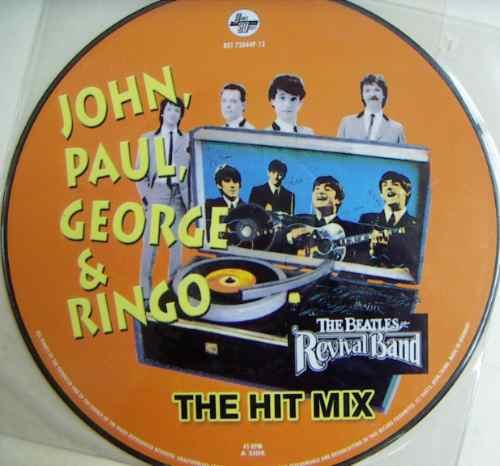 rock internacional, the beatles, the hit mix, fotodisco 12