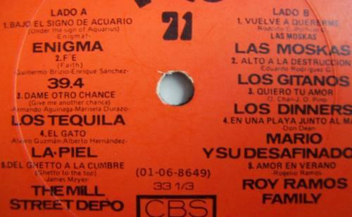 rock mex, varios, ofensiva pop moskas, tequila, 39.4, enigma