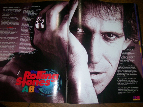 rock n´ shows- rns collection 9- rolling stones- mick jagger