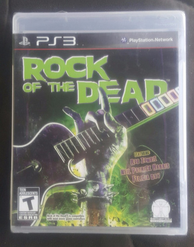 rock of the dead ( fisico ) - playstation 3 - ps3