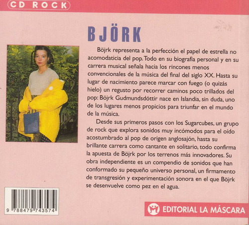 rock pop bjork sugarcubes islandia vanguardia cool 1999 raro