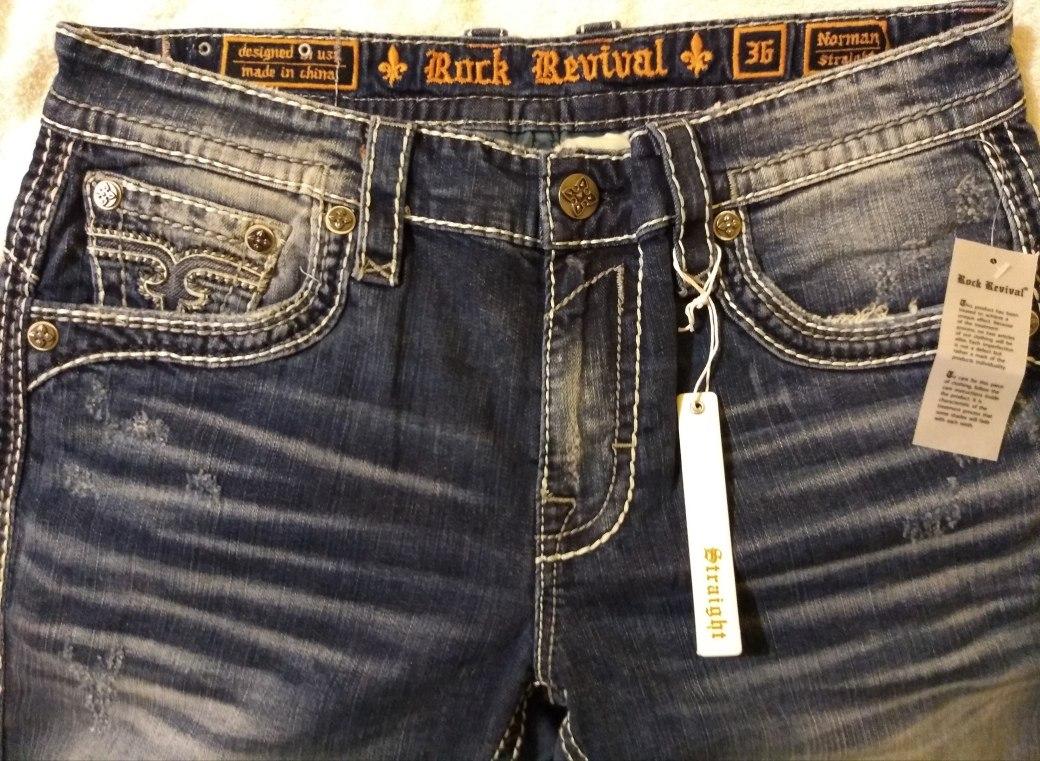 Cost Scăzut Cea Mai Bună Atitudine Diverse Culori Pantalones Rock Revival Para Hombre Peckmedia Ro