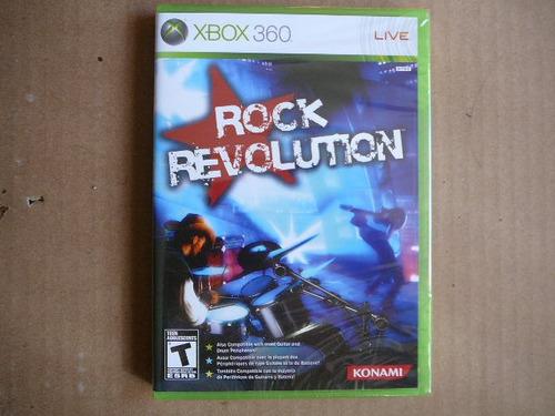 rock revolution para xbox 360 nuevo paq de 10 envío gratis
