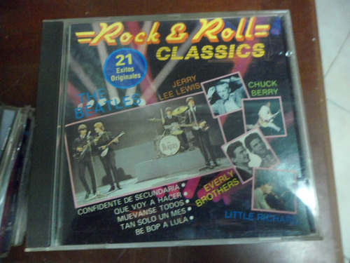 rock & roll cd 21 classics hits