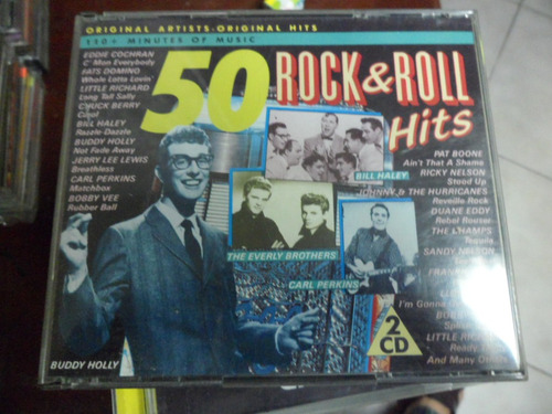 rock & roll cd doble 50 rock and roll hits
