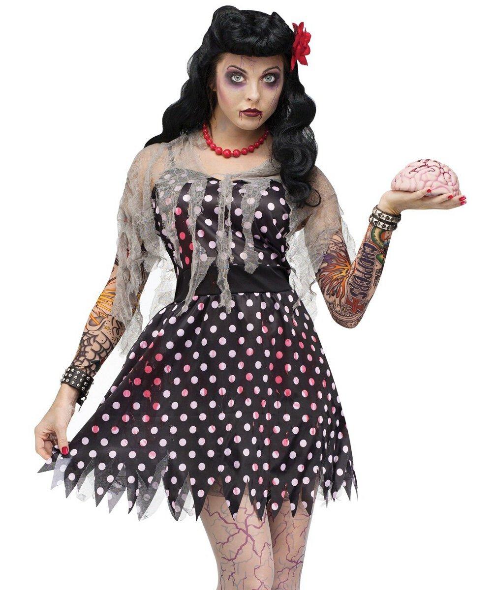 rockabilly zombie traje para adultos, punk zombie traje - $ 138.900