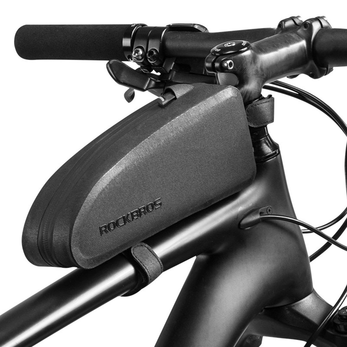 94105b22887 rockbros bolsa bicicleta carretera ciclismo impermeable bols. Cargando zoom.