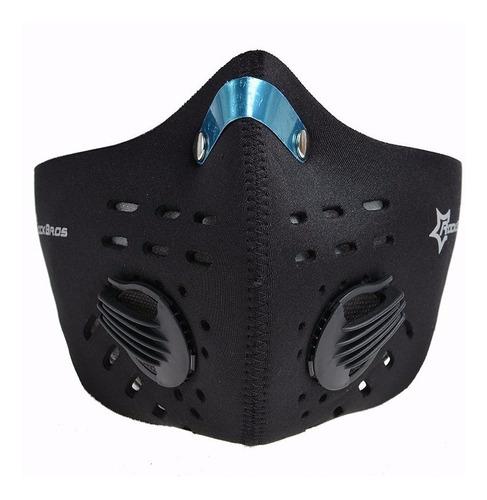rockbros - máscara unisex cortaviento anti polvo