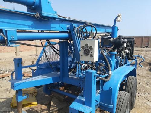 rockbuster® r100  - maquina de perforación de pozos de agua.