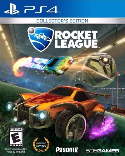 rocket league collector's ed ps4 físico sellado envio gratis
