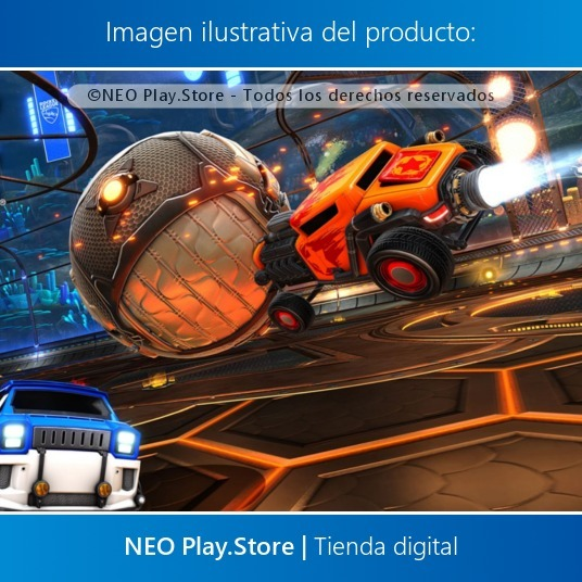Rocket League Juego Ps4 Divertido Multijugador Oferta Esp 499