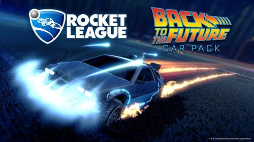 rocket league original steam dlc car pack volver al futuro