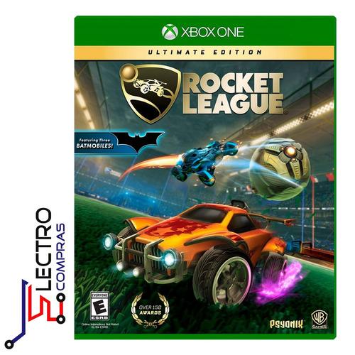 rocket league ultimate xbox one /disco fisico / sellado