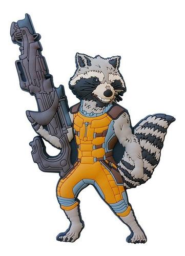 rocket racoon guardioes ima em pvc - bonellihq e19