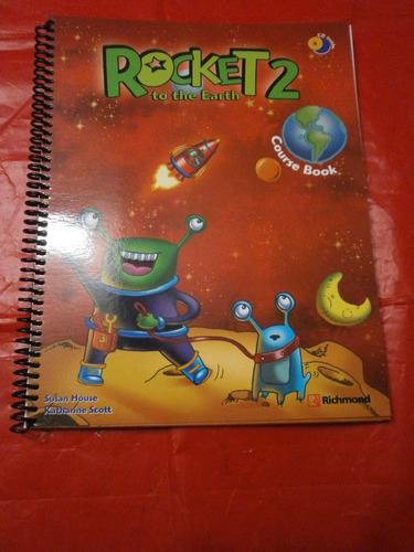 rocket to the earth 2 course book richmond como nuevo con cd